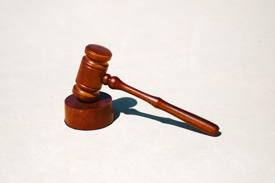 marteau de juge de loi